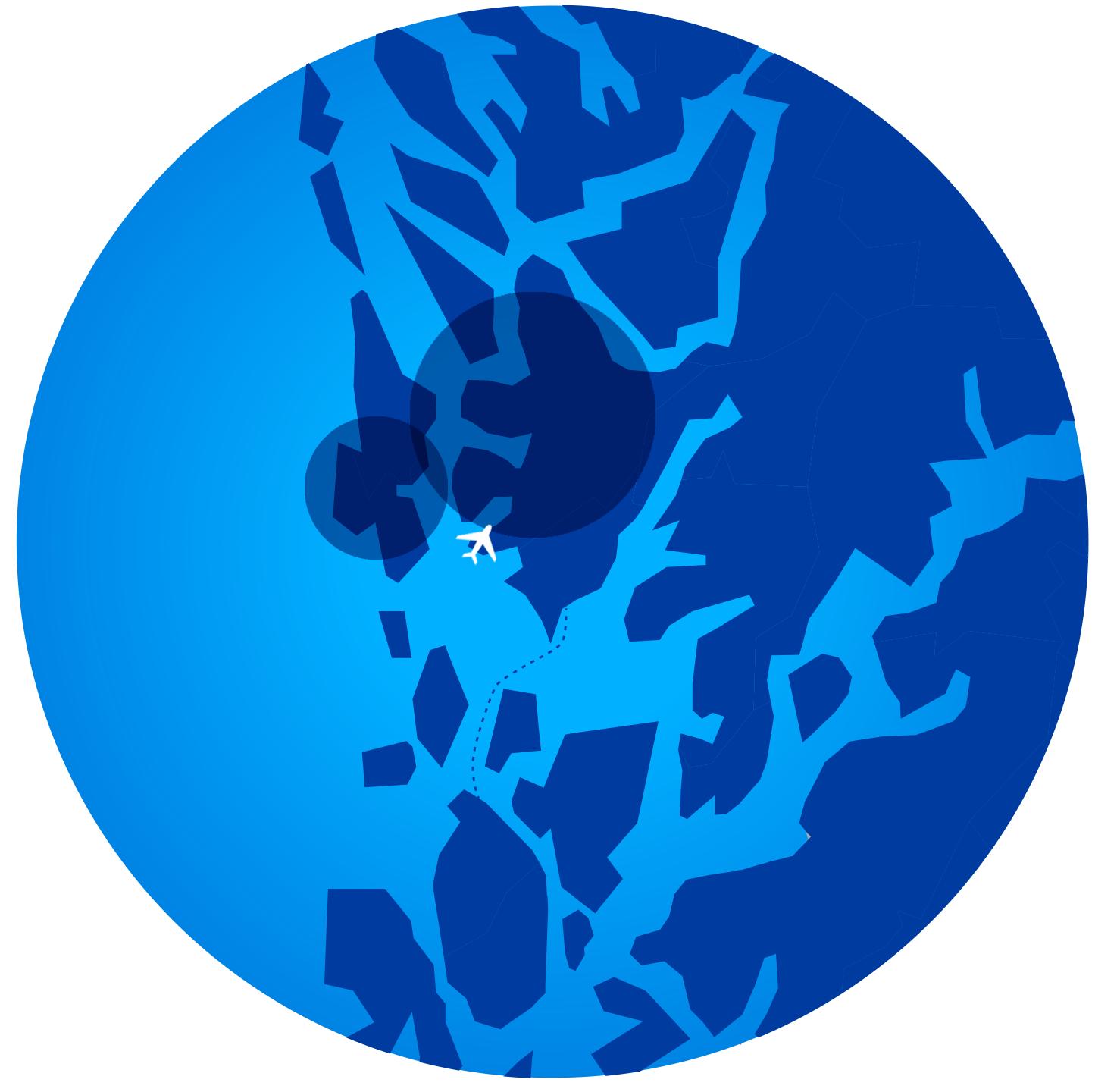 Lyseparken - Kart - hordaland