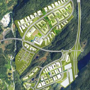 Lyseparken - Områdeplan